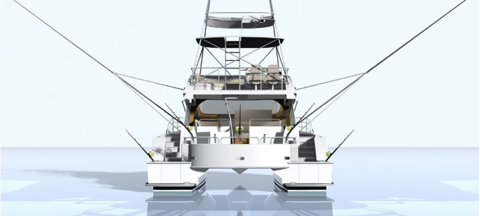 Design | Naval Architecture and Yacht Design - 14m Sport Fishing ...